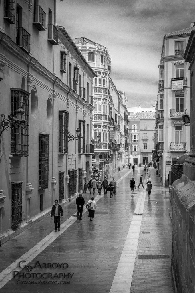 Polished Streets of Malaga Spain (Espana) Photography by Giovanni Arroyo