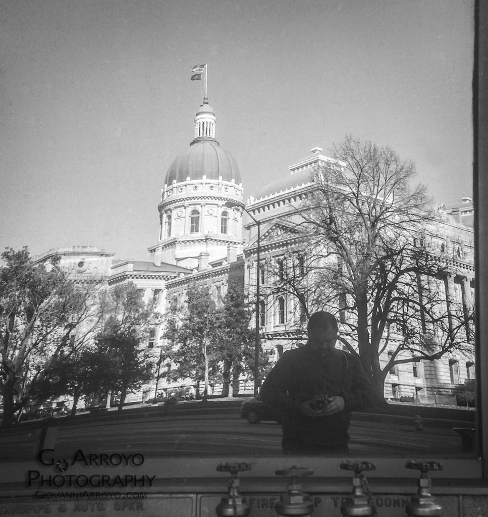 Rolleiflex Automat Vivian Maier Style Photofraph 1
