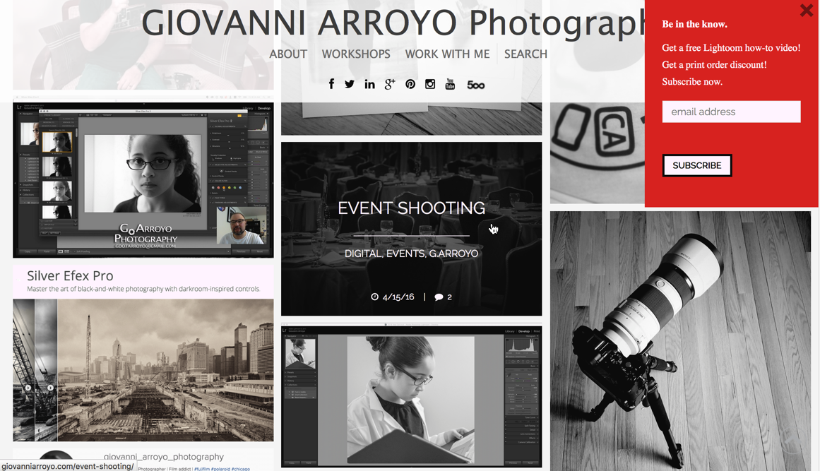 Subscribe to Giovanni Arroyo Photography