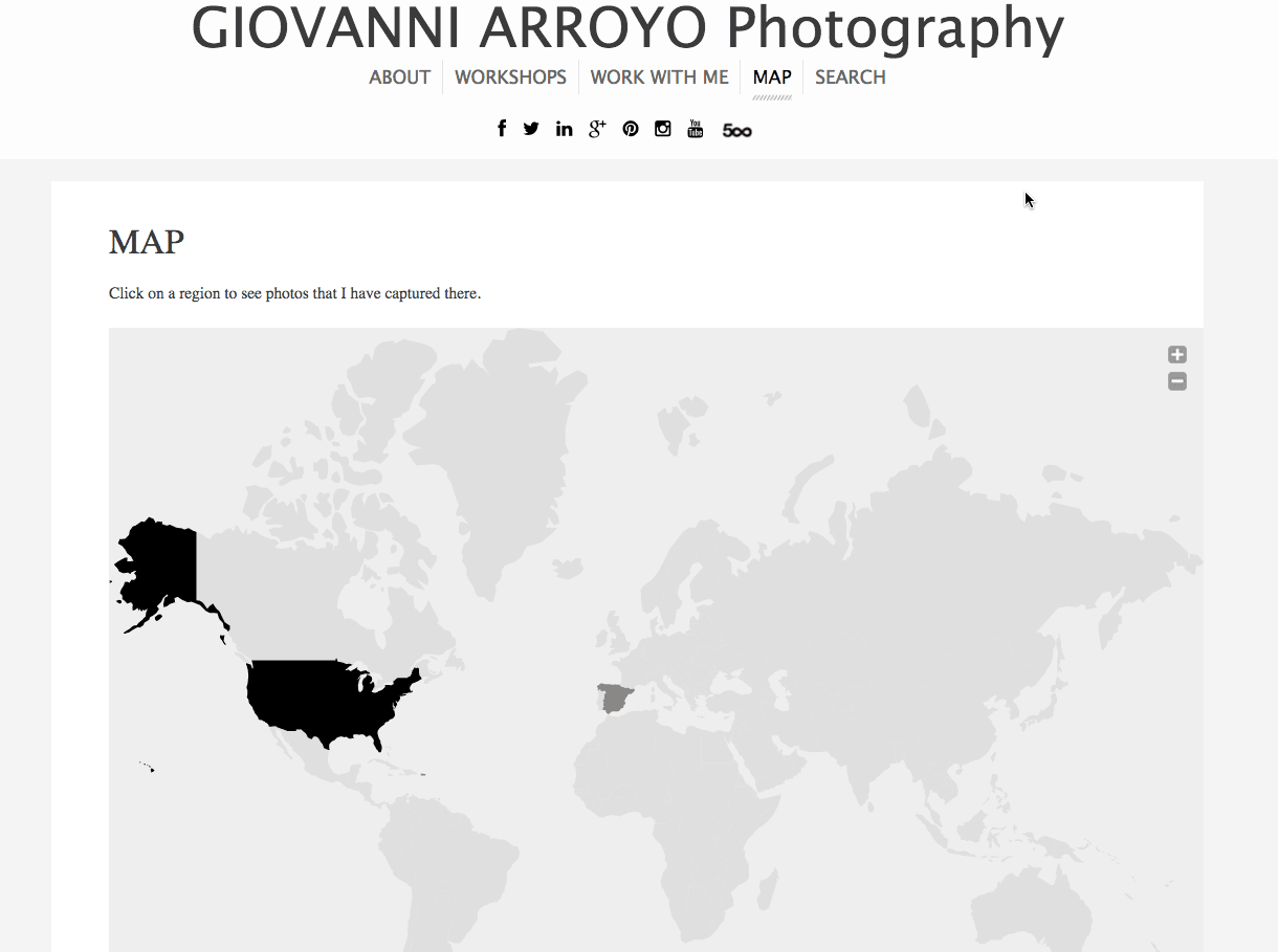 Map | Giovanni Arroyo